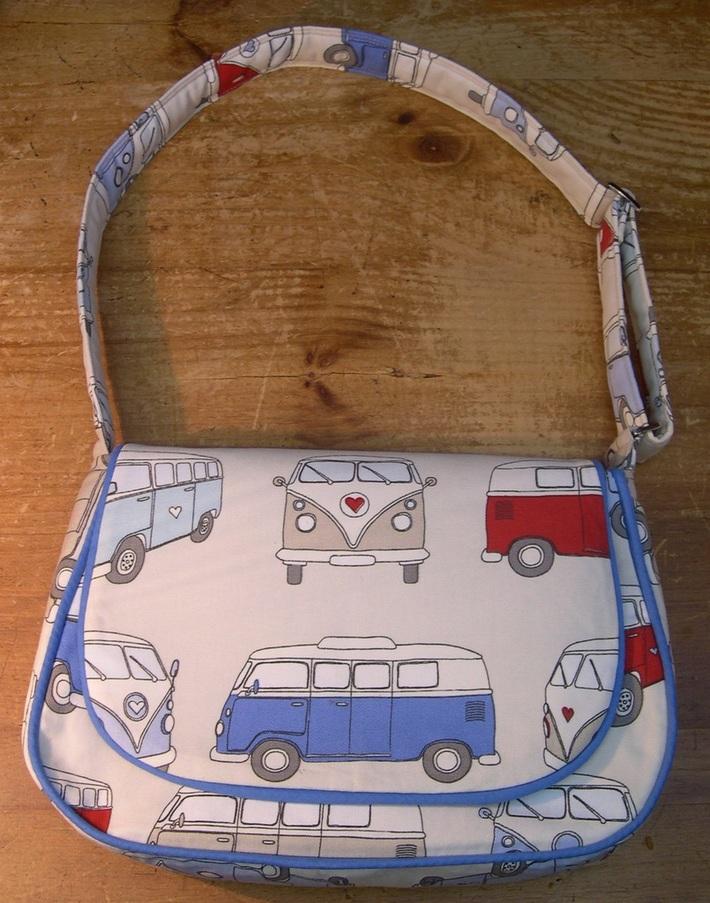 Campervan Mirabelle Messenger Bag
