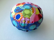 Quilted Hexagon Pin Cushion