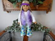 American Girl Doll Julie is a Hippie