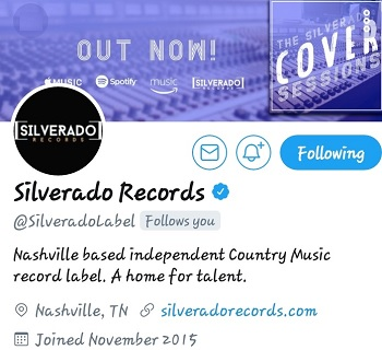 "PEACE... SILVERADO RECORDS THANKS FOR SUPPORTING  ""YOUNG GIFTED ENTERTAINMENT"" #COUNTRY&HIPHOP #COLLAB"