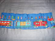 """""""Trains"""" Crayon Roll-Up"""