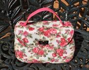 Floral Mabel Vintage Handbag (Swoon Patterns)