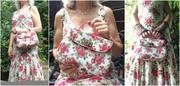 Mabel Vintage Handbag (Swoon Patterns) Collage