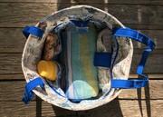Totes Ma Tote Beach Bag - wide open