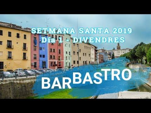 BARBASTRO - SETMANA SANTA ABRIL 2019 - DIA 1