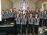 North Star Boys' Choir in Worship