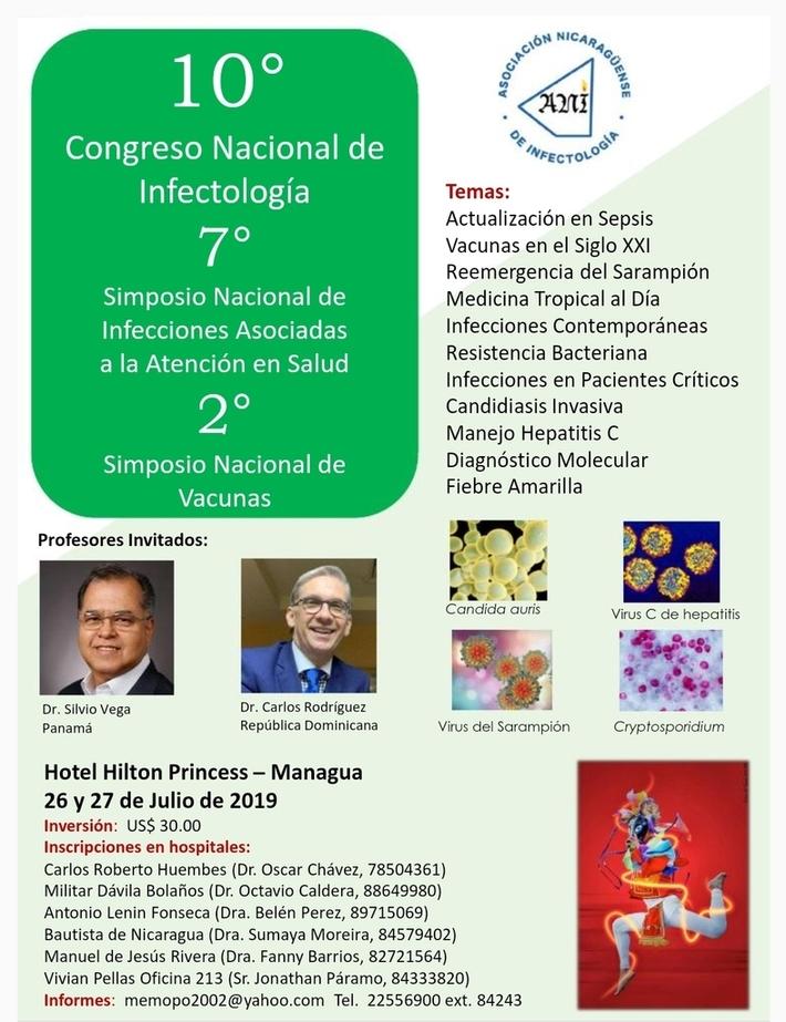 10 CONGRESO NACIONAL DE INFECTOLOGÍA