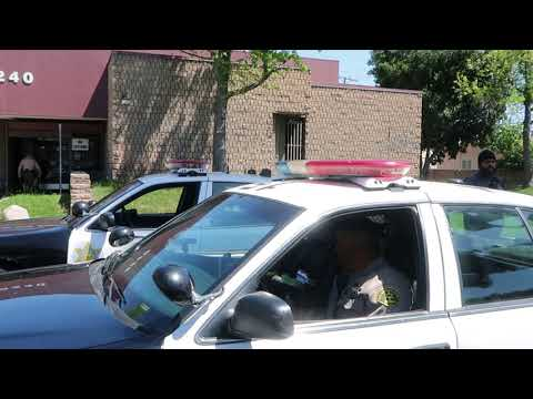 MR. CLUELESS TELLS US WE'RE ON PRIVATE PROPERTY @ PROBATION OFFICE NORWALK, CA.  1ST AMENDMENT AUDIT