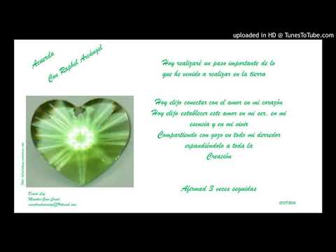 Oraciòn diaria del Consejo de Arcàngeles: Arcàngel Raphael
