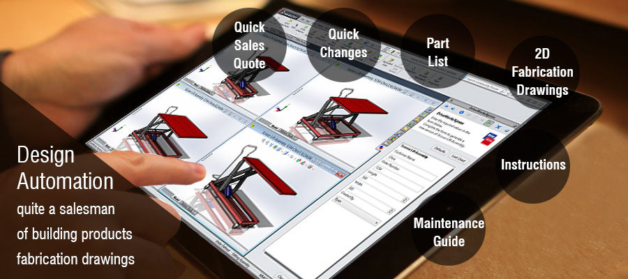 Design Automation Quite A Salesman Of Building Products