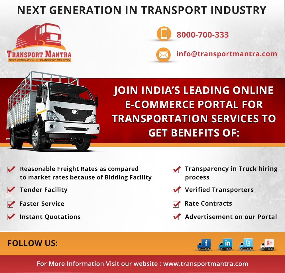 Freight rates remain steady on ample position of trucks