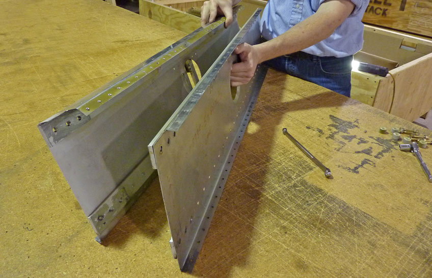 Part 14: Disassembling the Center Wing Spar Assembly and more