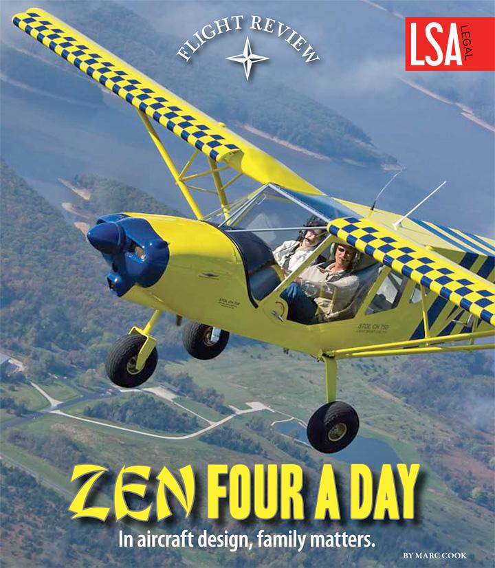 Kitplanes magazine Flight Reviews: