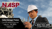 Safety Manager / Trainer - July 14-18, 2014; Charlotte, NC