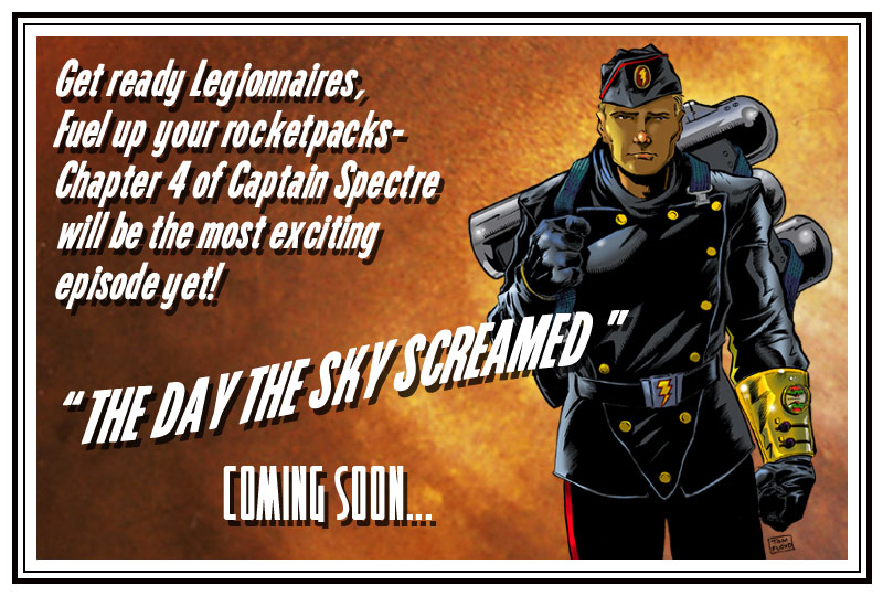 Captain Spectre coming soon