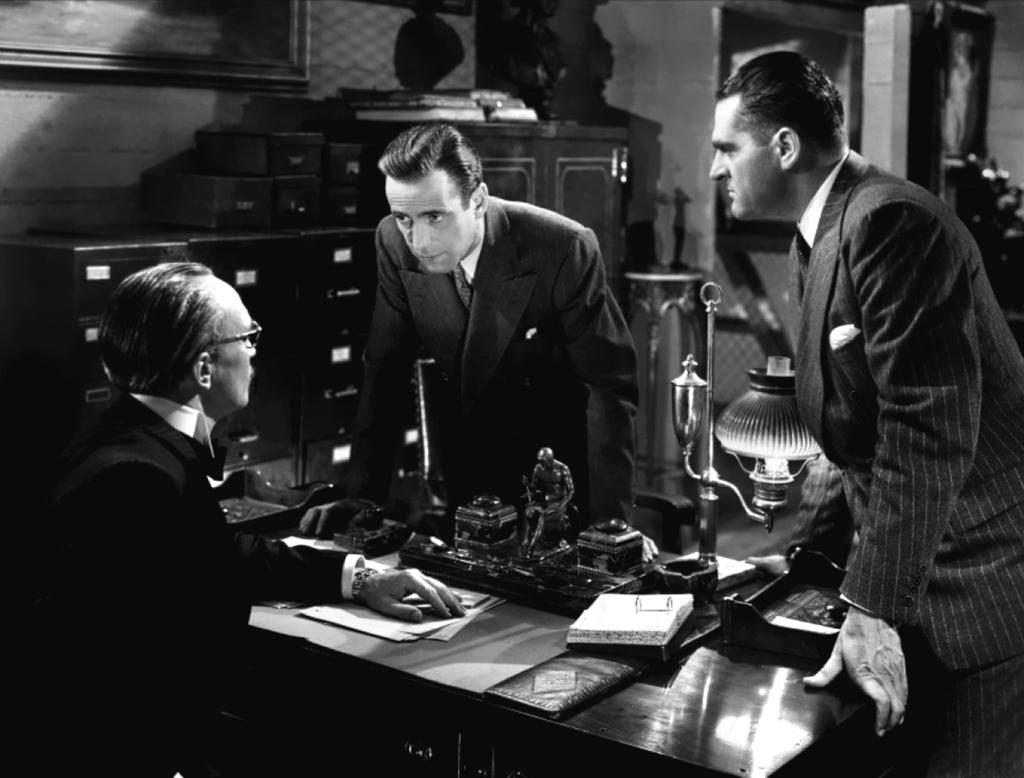 Humphrey Bogart in All Through the Night