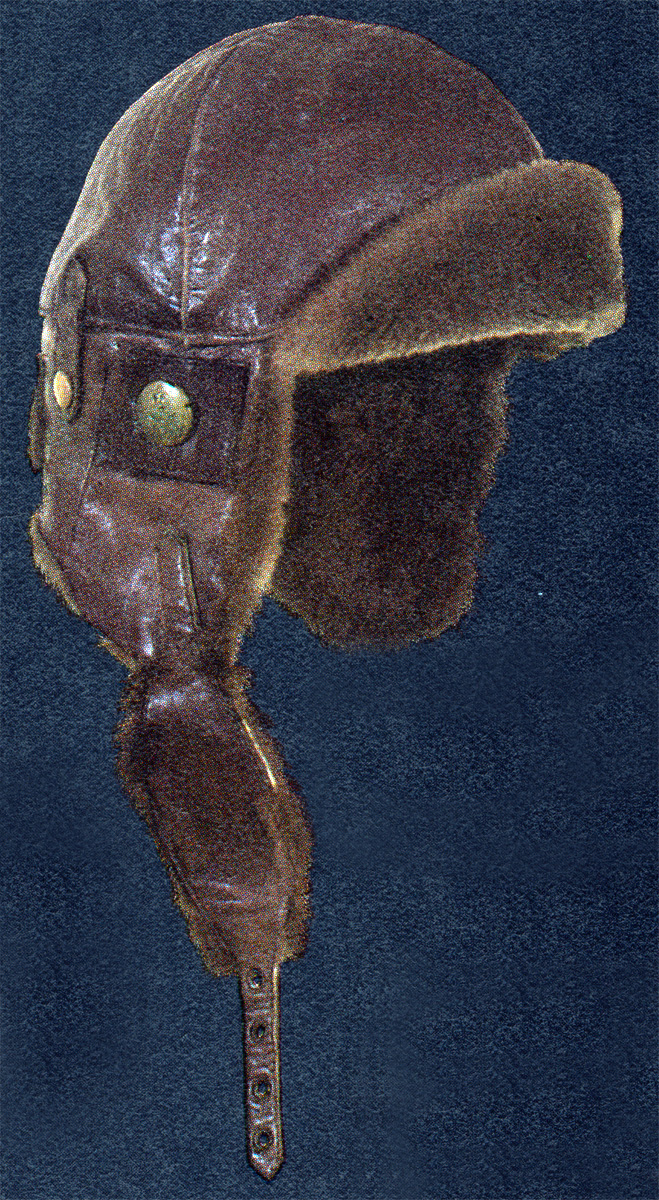 British Airman's Leather Flying Helmet