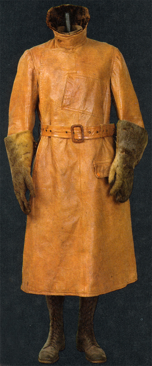 British Coat and Otterskin Gauntlets