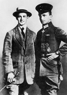 Tony Fokker and Lt Kurt Wintgens