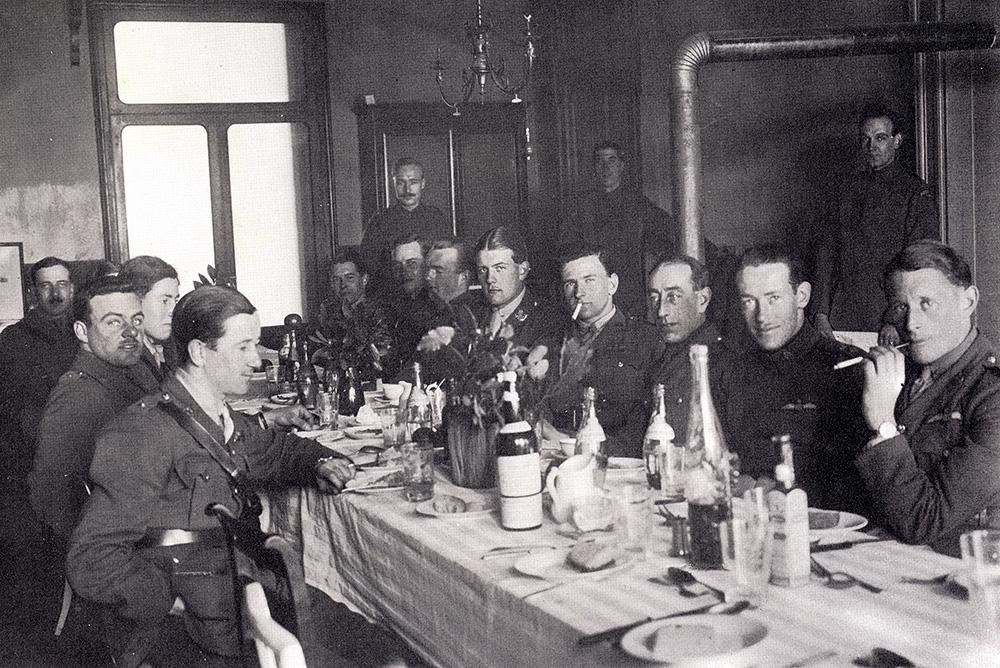 WWI British flight officers