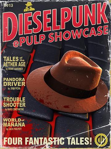 Dieselpunk book cover