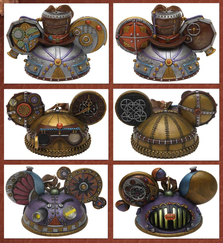 Disney Mechanical Kingdom ornaments