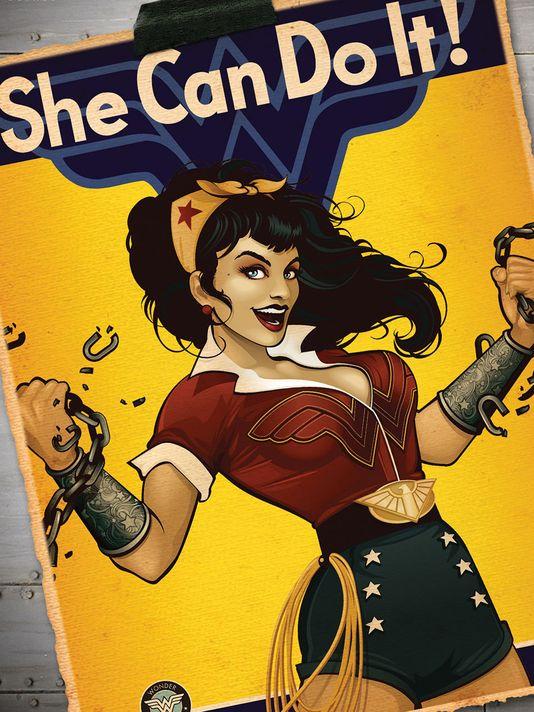 Wonder Woman bombshell cover