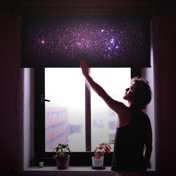 ინტერიერი, კოსმოსი, თანავრსკვლავედი, გალაქტიკა, დიზაინი, ბლოგი, დღიური, ქველი, qwelly, blog, galaxy, moon, stars, design, qwellypost