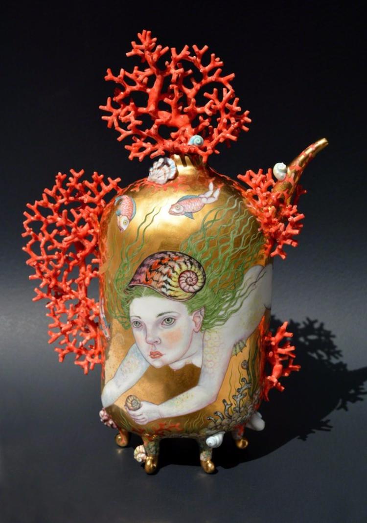 ორიგინალური ჭურჭელი, ჭიქები, ლამბაქები, თეფშები, თასები, ვაზები, მოჩუქურთმებული ჭურჭელი, Qwelly, art, xelovneba, ირინა ზაინცევა, Irina Zaytceva
