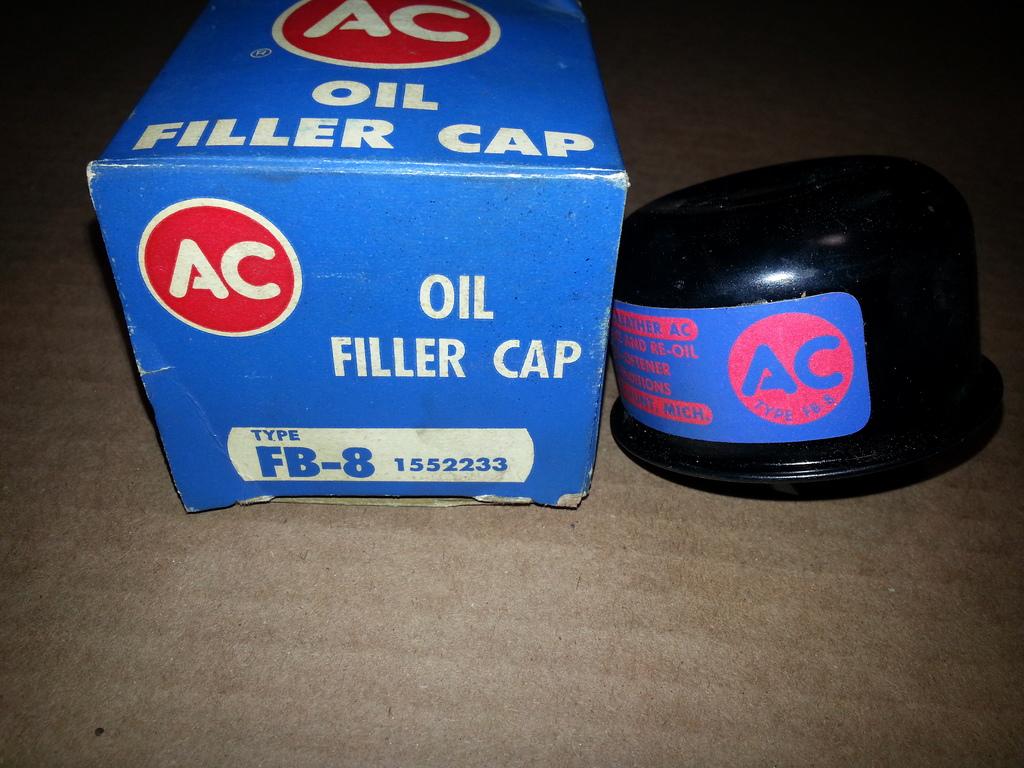 NOS oil filler cap - 63/64 Cadillac Website