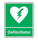 Defibrillator retraining session