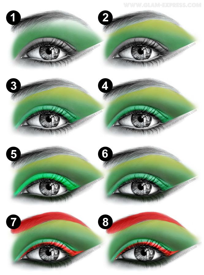 Poison Ivy Makeup Tutorial Glam Express