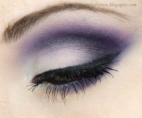 smokey purple cut crease makeup tutorial  glam express