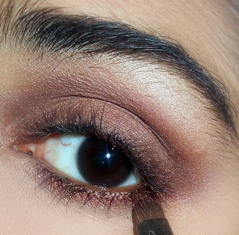 everyday simple natural eye makeup tutorial  glam express