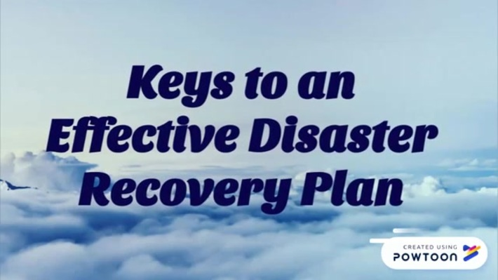 Keys to an Effective Disaster Recovery Plan