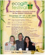 ecogift festival dec 12,13,14 at santa monica civic