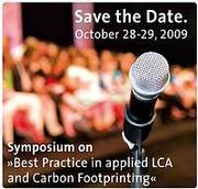 """""""Best Practice in applied LCA and Carbon Footprinting"""" Symposium"""