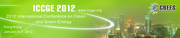 2012 International Conference on Clean and Green Energy (ICCGE 2012)
