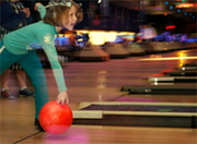 Family Bowling with the Keshet Parents' Group