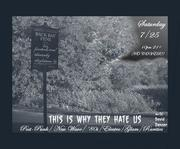 "Dj David Dancer Hosts ""This Why Is They Hate Us"" 10pm Free"