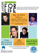 Laughs for Life Comedy Fundraiser
