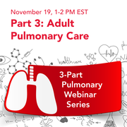 Webinar: Adult Pulmonary Care