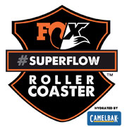 Fox Rollercoaster Superflow Series Round 5, hydrated by CamelBak