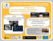 Open call for videodances, documentaries on dance and papers