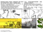 FREE SCHOLARSHIPS TO SEOUL THIS SUMMER...DANCE, URBANISM, AND PHYSICAL COMPUTING