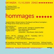 DATANZDA HOMMAGES