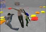 INVITATION Real Virtual Games PARTICIPATORY PERFORMANCE in Second Life