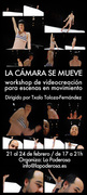 "Workshop ""La cámara se mueve"" @ Barcelona"