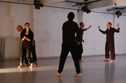 Physical Theater Improvisation Training Focus on Duo