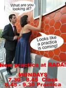 THE ARGENTINE TANGO IN LONDON | MONDAYS @RADA LESSON + PRACTICA